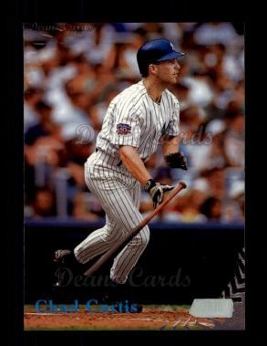 1998 Topps Stadium Club #207  Chad Curtis