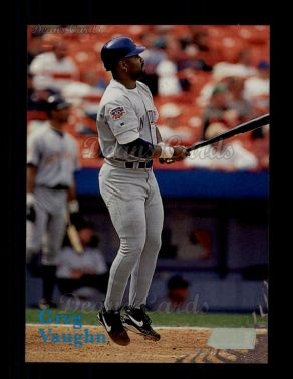 1998 Topps Stadium Club #212  Greg Vaughn