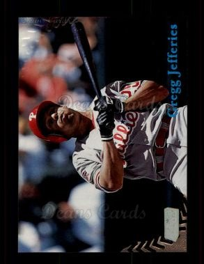 1998 Topps Stadium Club #28  Gregg Jefferies