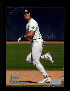 1998 Topps Stadium Club #325  Jose Canseco
