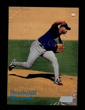 1998 Topps Stadium Club #41  Heathcliff Slocumb