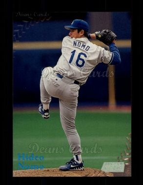 1998 Topps Stadium Club #84  Hideo Nomo