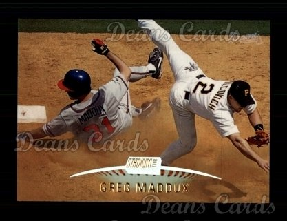 1999 Topps Stadium Club #100  Greg Maddux