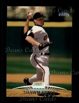 1999 Topps Stadium Club #116  Shawn Estes