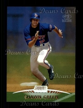 1999 Topps Stadium Club #15  Shawn Green