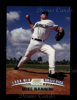 1999 Topps Stadium Club #157  Mike Nannini