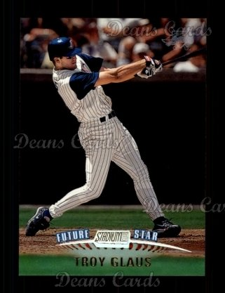 1999 Topps Stadium Club #161  Troy Glaus