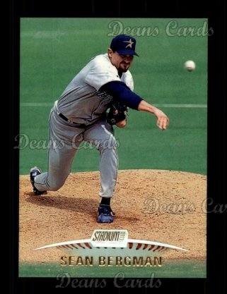 1999 Topps Stadium Club #186  Sean Bergman
