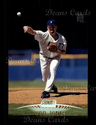 1999 Topps Stadium Club #229  Todd Jones