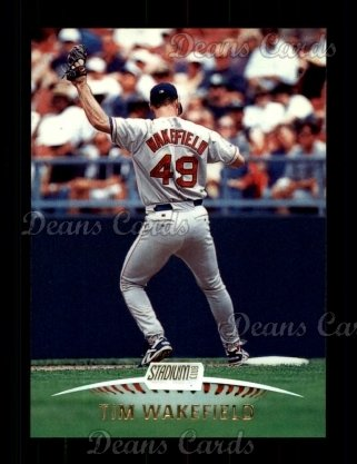 1999 Topps Stadium Club #231  Tim Wakefield