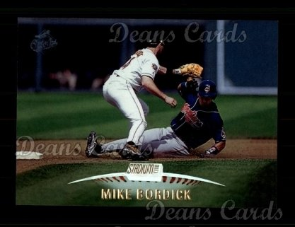1999 Topps Stadium Club #245  Mike Bordick