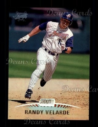 1999 Topps Stadium Club #301  Randy Velarde