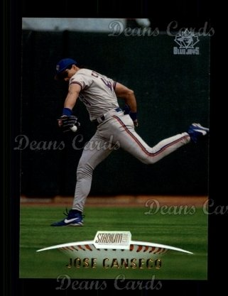 1999 Topps Stadium Club #32  Jose Canseco