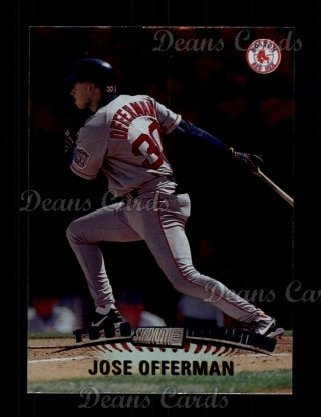 1999 Topps Stadium Club #321  Jose Offerman