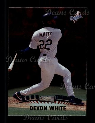 1999 Topps Stadium Club #331  Devon White