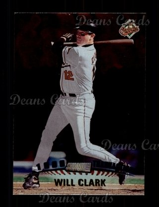 1999 Topps Stadium Club #332  Will Clark