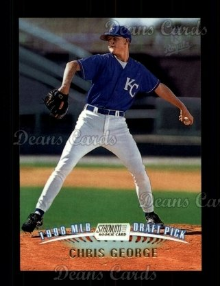 1999 Topps Stadium Club #337  Chris George