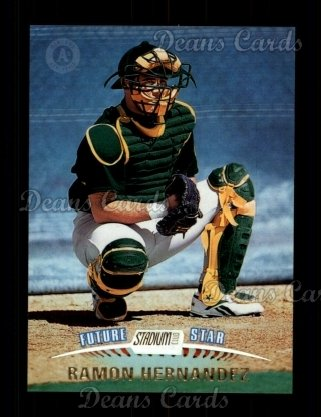 1999 Topps Stadium Club #352  Ramon Hernandez