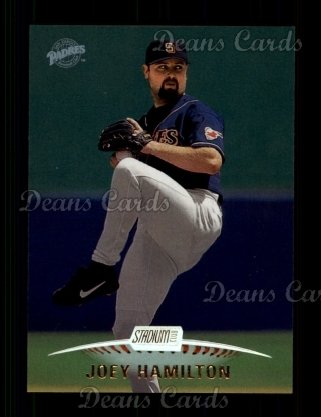 1999 Topps Stadium Club #73  Joey Hamilton