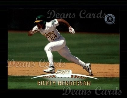 1999 Topps Stadium Club #79  Rickey Henderson