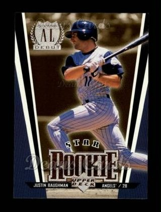 1999 Upper Deck #13   -  Justin Baughman Star Rookie