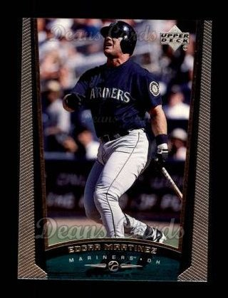 1999 Upper Deck #491  Edgar Martinez