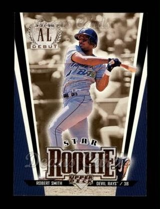 1999 Upper Deck #6   -  Robert Smith Star Rookie
