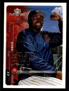 1999 Upper Deck MVP #121  David Ortiz