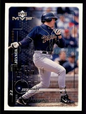 1999 Upper Deck MVP #179  Wally Joyner