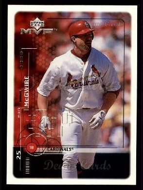 1999 Upper Deck MVP #220  Mark McGwire