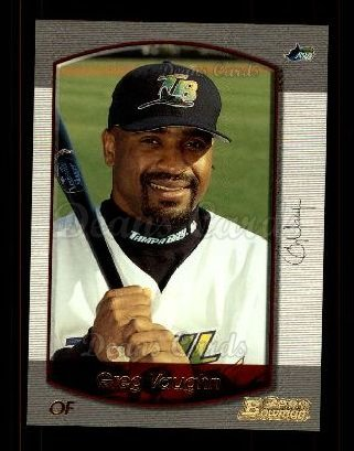 2000 Bowman #10  Greg Vaughn