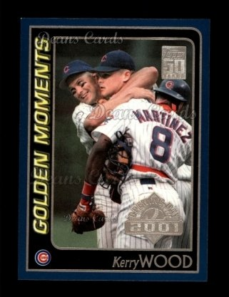 2001 Topps Opening Day #164   -  Kerry Wood Golden Moments