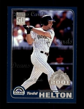 2001 Topps Opening Day #81  Todd Helton