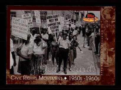 2001 Topps American Pie #116   Civil Rights Movement