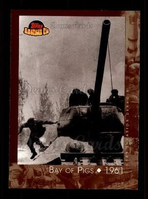 2001 Topps American Pie #117   Bay of Pigs