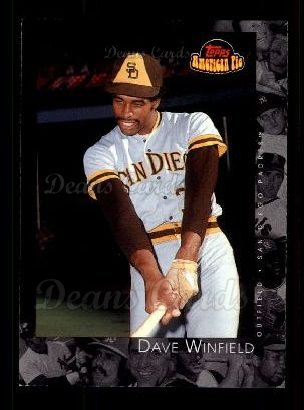 2001 Topps American Pie #21  Dave Winfield