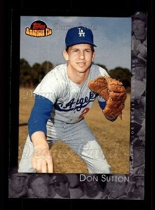 2001 Topps American Pie #25  Don Sutton