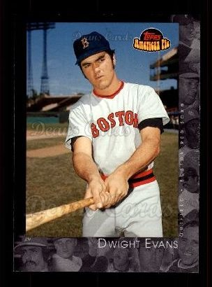 2001 Topps American Pie #26  Dwight Evans