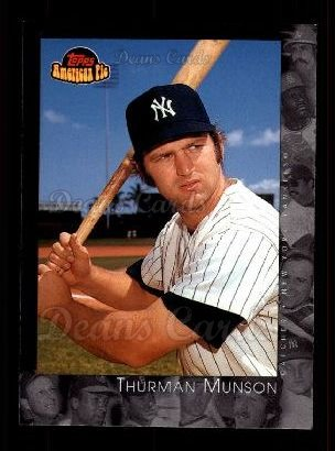 2001 Topps American Pie #80  Thurman Munson