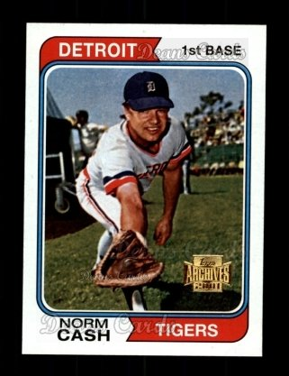 2001 Topps Archives #136   -  Norm Cash 74 Topps