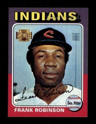 2001 Topps Archives #139   -  Frank Robinson 75 Topps