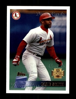 2001 Topps Archives #195   -  Ozzie Smith 96 Topps