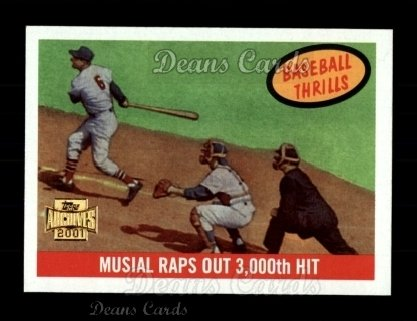 2001 Topps Archives #217   -  Stan Musial 59 Topps