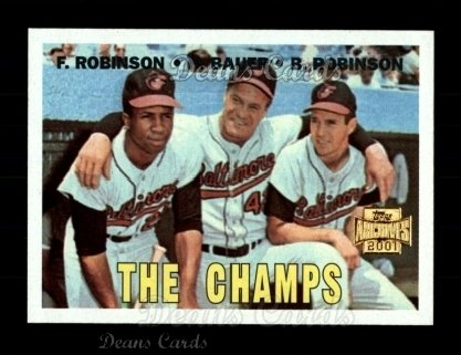 2001 Topps Archives #219   67 Topps The Champs
