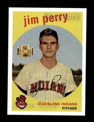 2001 Topps Archives #256   -  Jim Perry 59 Topps