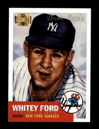 2001 Topps Archives #264   -  Whitey Ford 53 Topps