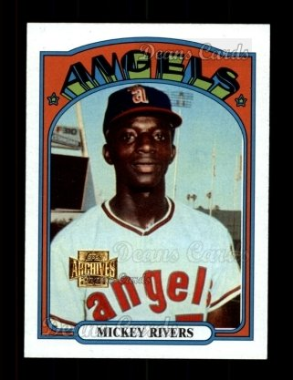 2001 Topps Archives #291   -  Mickey Rivers 72 Topps