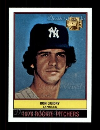 2001 Topps Archives #300   -  Ron Guidry 76 Topps