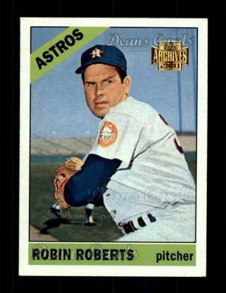 2001 Topps Archives #339   -  Robin Roberts 66 Topps