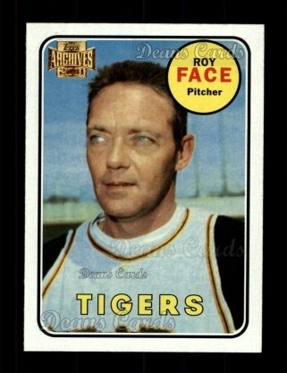 2001 Topps Archives #345   -  Roy Face 69 Topps